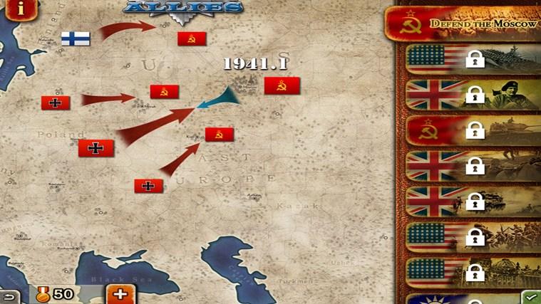 World Conqueror 2 screen shot 1