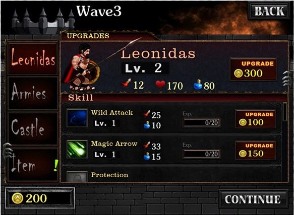 Spartans vs Zombies Defense screen shot 3
