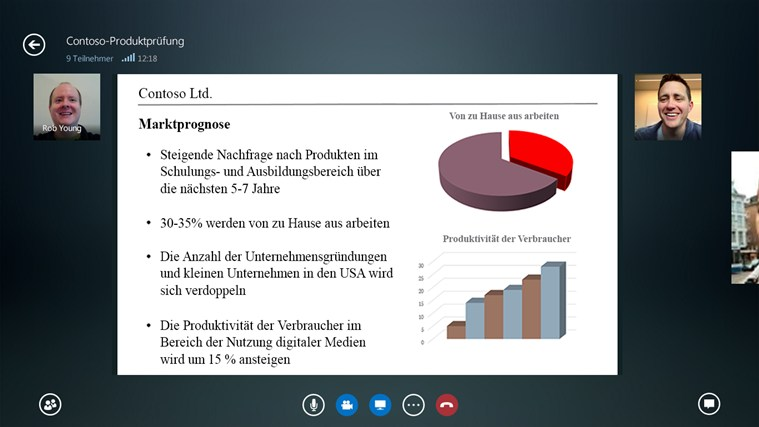 Lync Screenshot 5