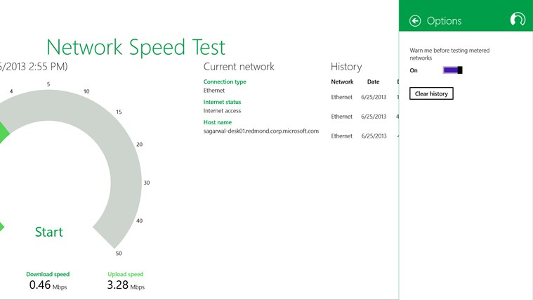 Network Speed Test screen shot 3