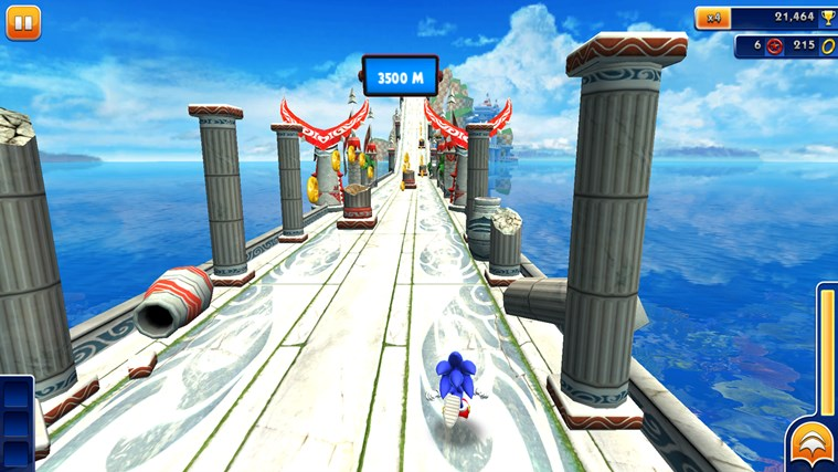 Sonic Dash screen shot 1