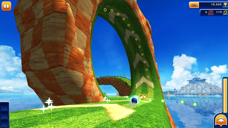 Sonic Dash screen shot 3