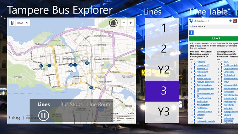 Tampere Bus Explorer screen shot 7