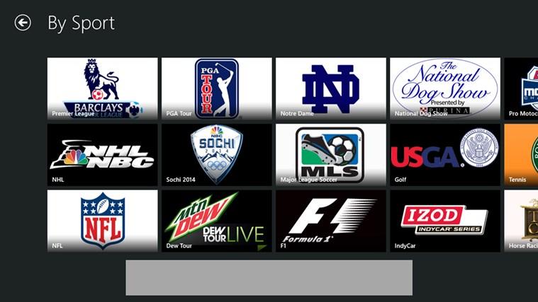 NBC Sports Live Extra screen shot 1