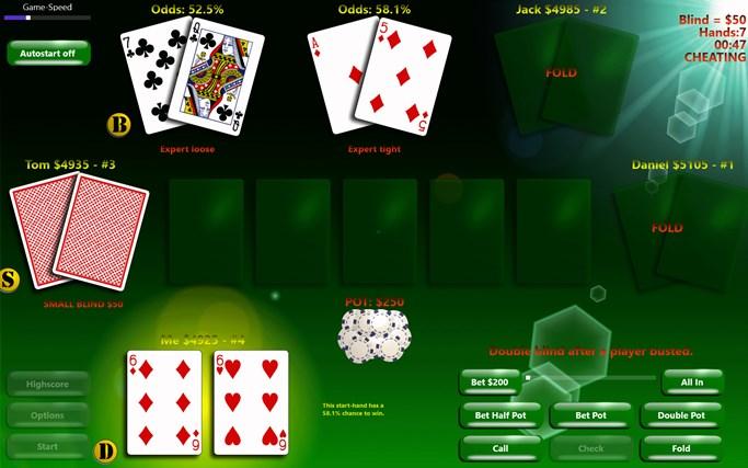 PlayPoker - Texas Hold'em screen shot 1