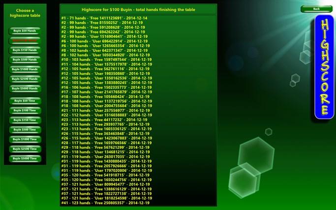 PlayPoker - Texas Hold'em screen shot 3