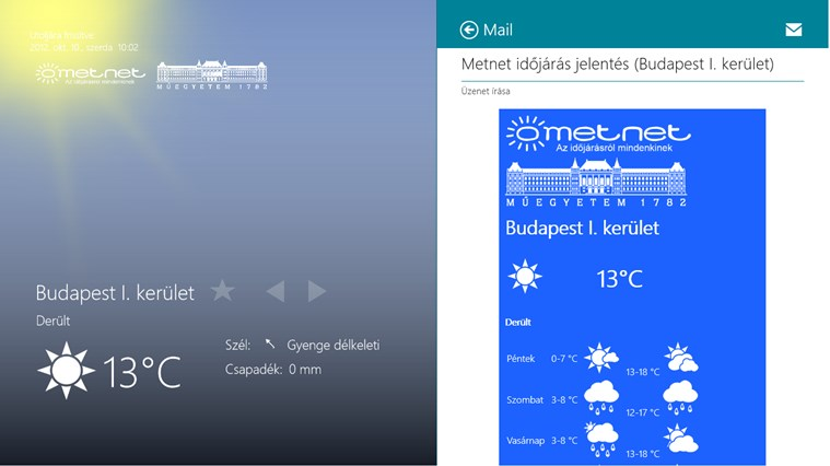 Időjárás mindenkinek screen shot 7