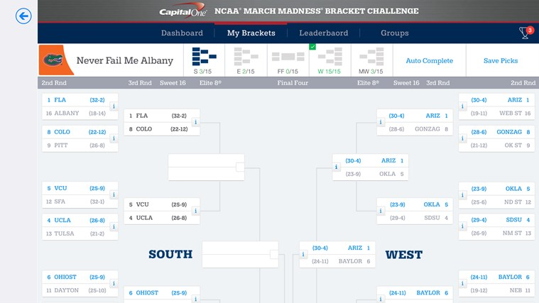 NCAA® March Madness® Live screen shot 7