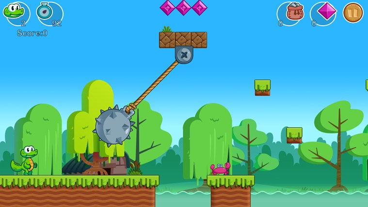 Croc's World screen shot 5