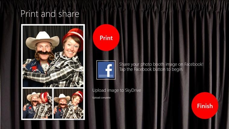 InstantPhotoBooth screen shot 5