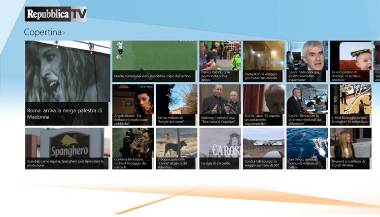 RepubblicaTV cattura di schermata 1