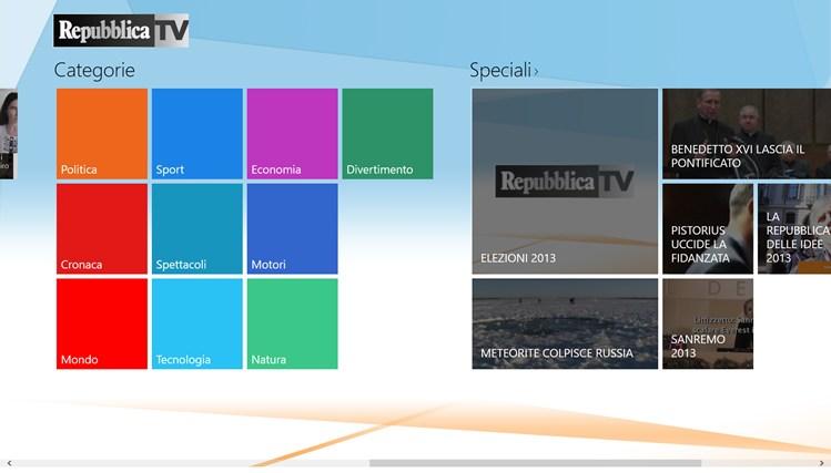RepubblicaTV cattura di schermata 3