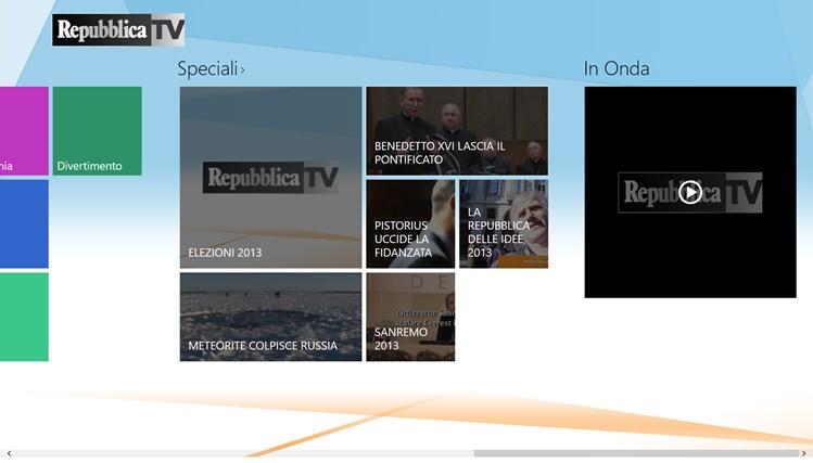RepubblicaTV cattura di schermata 5