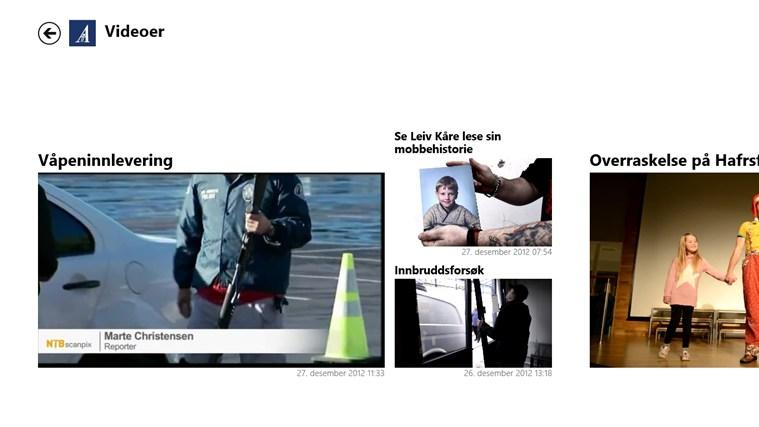 Stavanger Aftenblad skjermbilde 1