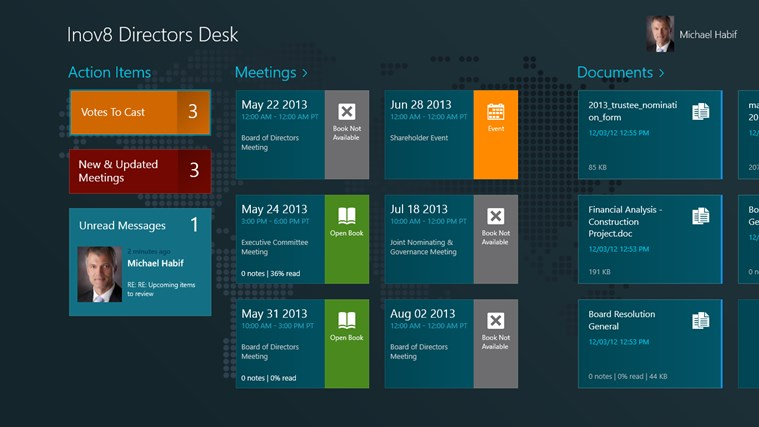 Directors Desk Windows 8 Edition screenshot 1