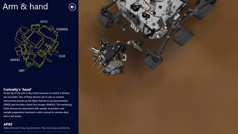 Mars Rover: Curiosity screen shot 3