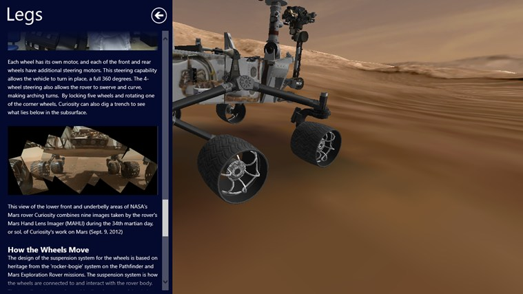 Mars Rover: Curiosity screen shot 5