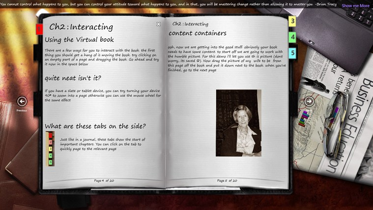 Journal screen shot 3