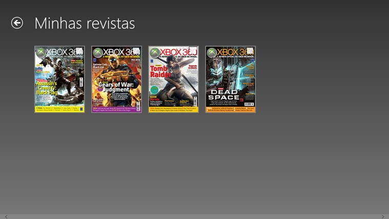 Revista Oficial do Xbox captura de tela 5