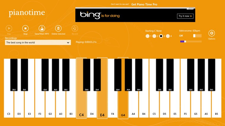 Piano Time screen shot 1