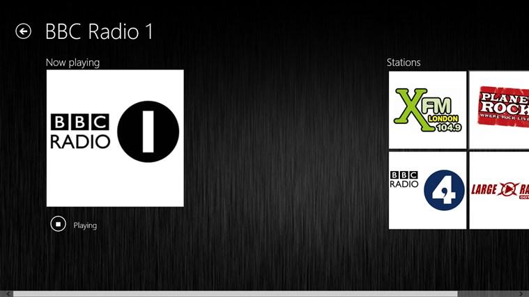 Webradio schermafbeelding 3