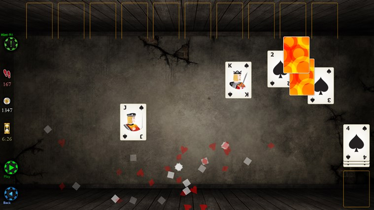 Spider Solitaire HD screen shot 7