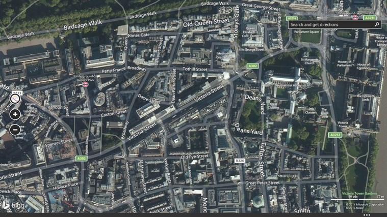 Maps screen shot 1