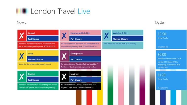 London Travel Live screen shot 1