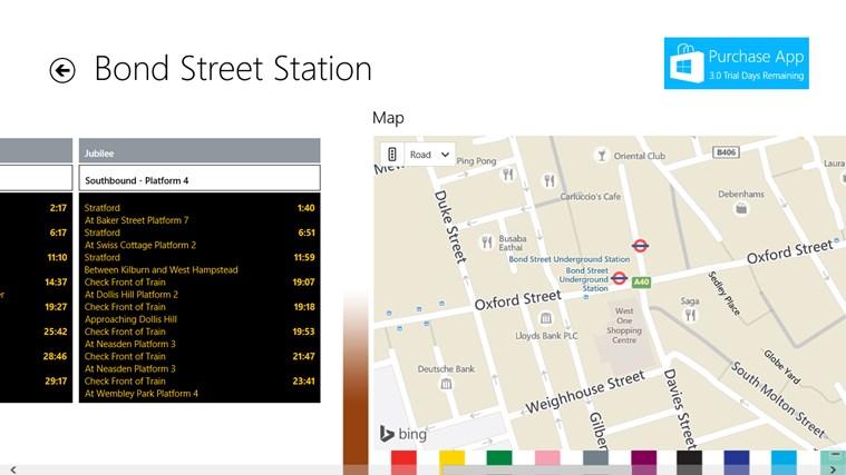 London Travel Live screen shot 7