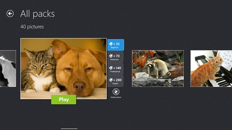Magic Jigsaw Puzzles screen shot 3