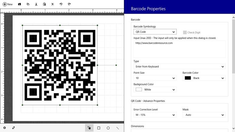 Barcode & Label petikan skrin 5