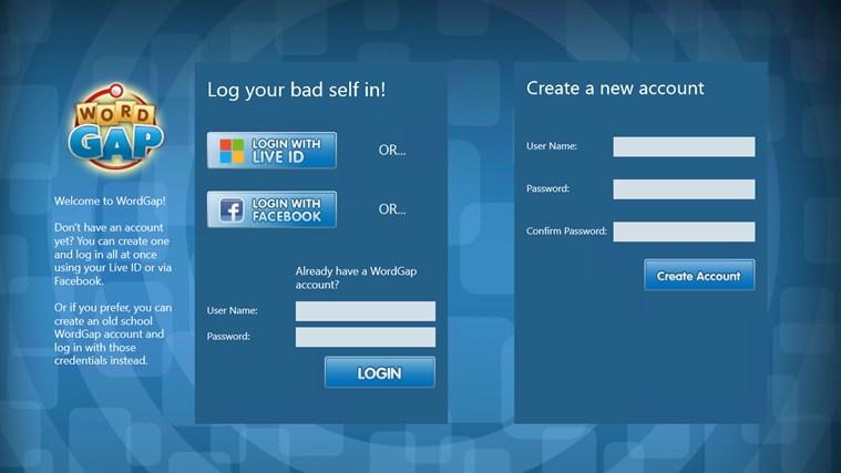 WordGap screen shot 3
