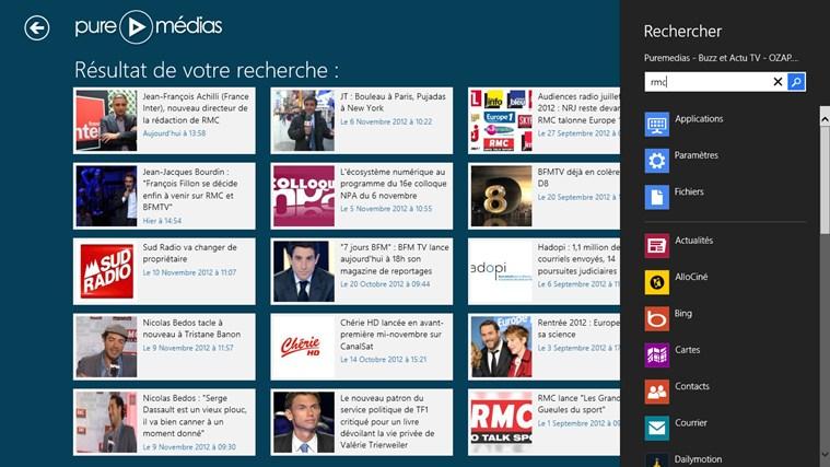 Puremedias - Buzz et Actu TV - OZAP.com capture d'écran 3