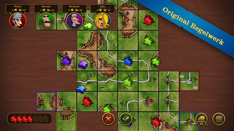 Carcassonne Screenshot 3