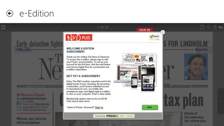The News & Observer screen shot 7