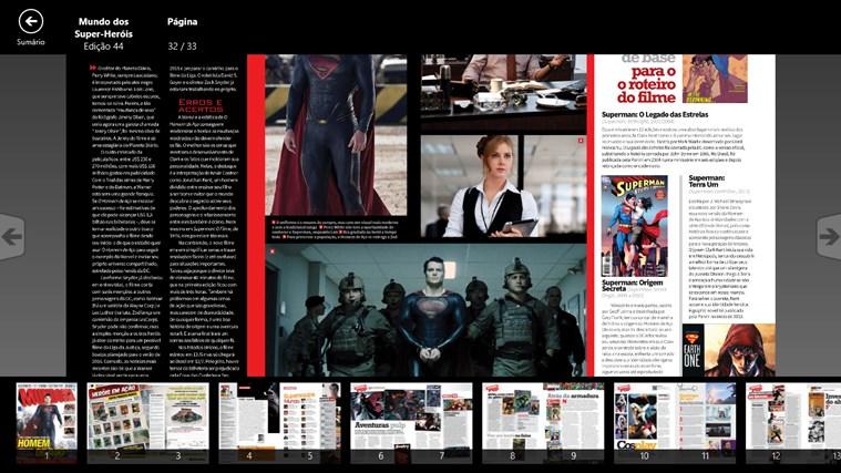 Revista Mundo dos Super-Heróis captura de pantalla 3