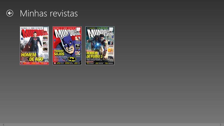 Revista Mundo dos Super-Heróis captura de pantalla 5