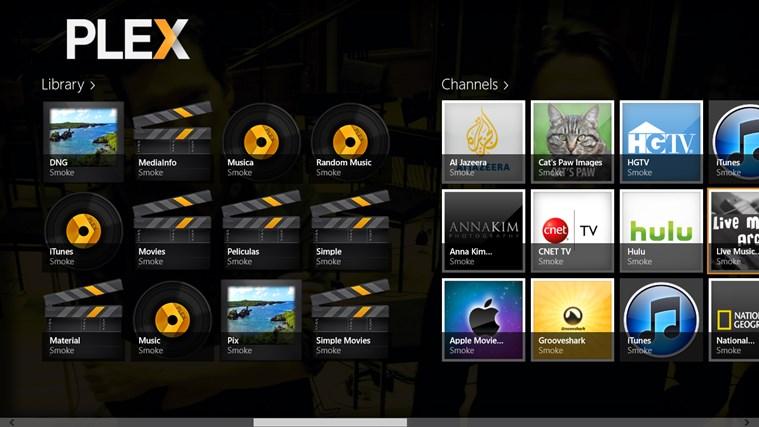 Plex capture d'écran 1