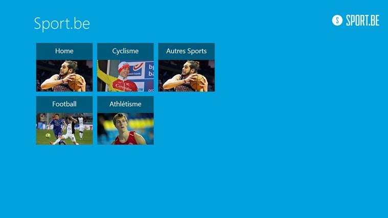 Sportbe capture d'écran 1