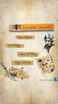Doodle Jewels Lite screen shot 5