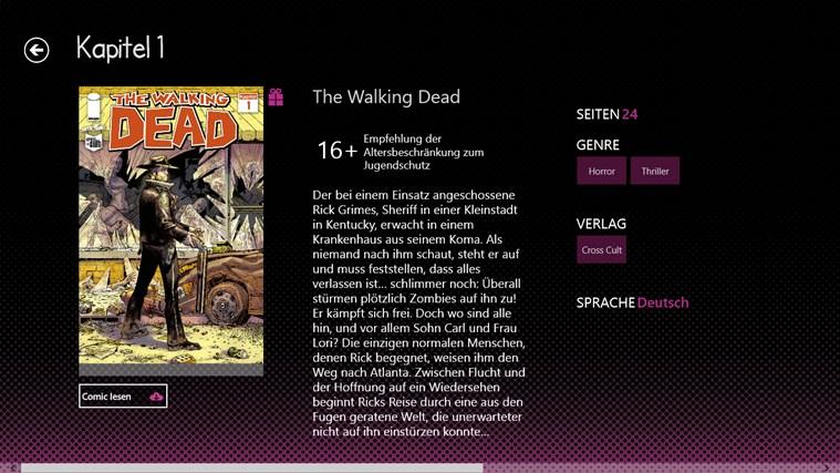 Mad Dog Comics Screenshot 1