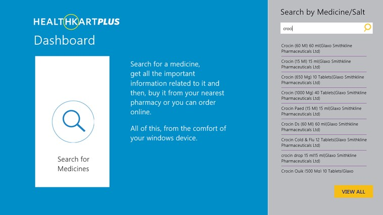 HealthKartPlus screen shot 1