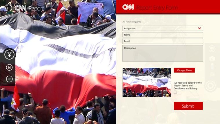 CNN App for Windows captura de tela 3