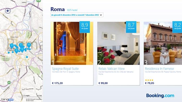 Booking.com cattura di schermata 1