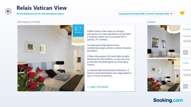 Booking.com cattura di schermata 3