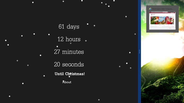 Christmas Countdown Free screen shot 3