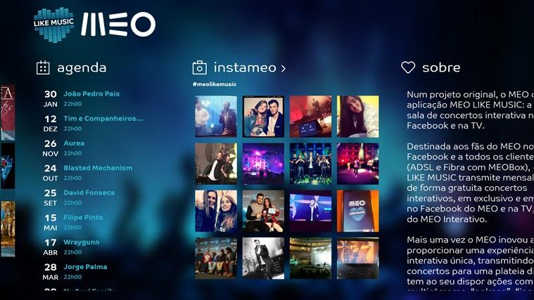 MEO Like Music captura de ecrã 1