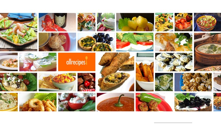 Allrecipes screen shot 1