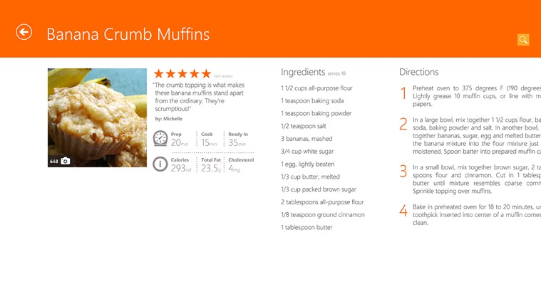 Allrecipes screen shot 3