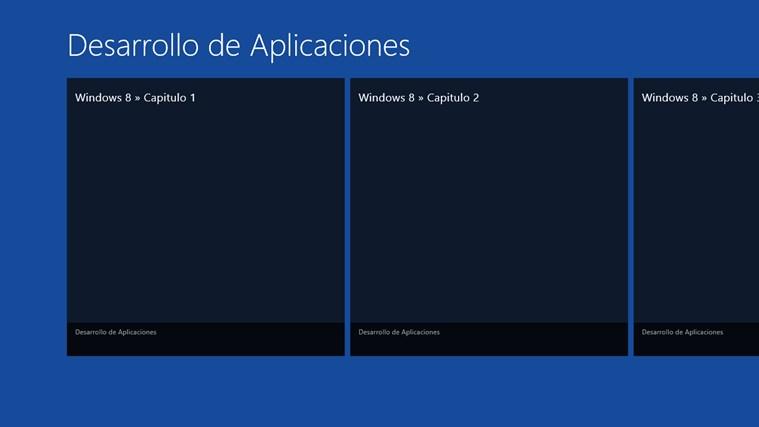 Desarrollo de Aplicaciones screen shot 1